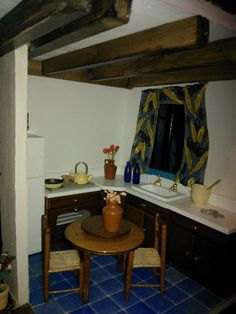 Corsican kitchen