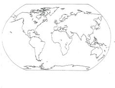 World Map Coloring Page Free Online Printable Coloring Pages, Sheets For  Kids. Get The Latest Free World Map Coloring Page Images, Favorite Coloring  Pages ...