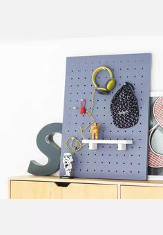 Large Peg Board - Charcoal B&K Design and Decor Storage | Superbalist.com