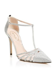 SJP by Sarah Jessica Parker Pumps - Carrie Cage Glitter | Bloomingdales's
