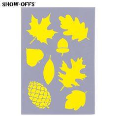 $2.99 - Leaves Stencil