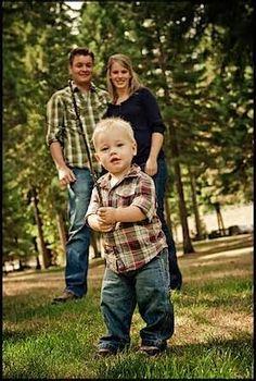 Image detail for -Free Family photo posing idea - Family of three