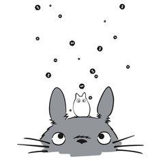 Totoro and soot sprites Animes Wallpapers, Cute Wallpapers, Manga Anime, Anime Art, Chihiro Y Haku, Studio Ghibli Art, Ghibli Movies, Anime Tattoos, My Neighbor Totoro