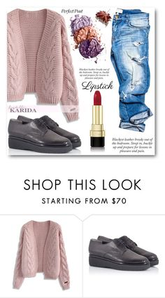 """fratellikarida"" by angelstar92 ❤ liked on Polyvore featuring beauty, Chicwish, Robert Clergerie, Dolce&Gabbana, polyvoreeditorial and FratelliKarida"