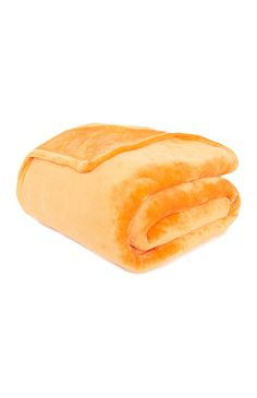 Superzachte oranje deken