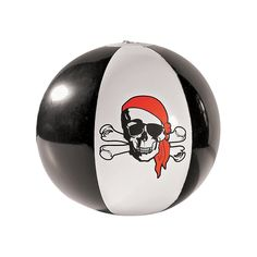 Inflatable Pirate Beach Balls - OrientalTrading.com