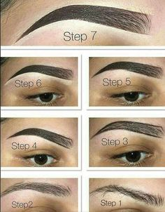 Easy brow tutorial - fill in eyebrows with the brow pomade in chocolate. Step Easy brow tutorial - fill in eyebrows with the brow pomade in chocolate. Best Eyebrow Makeup, Best Eyebrow Products, Eye Makeup, Makeup Brush, Maquillage On Fleek, Instagram Eyebrows, Dark Eyebrows, Shape Eyebrows, Filling In Eyebrows