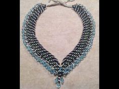 PandaHall Jewelry Making Tutorial Video -- How to Make a Tubular Netting Stitch Bead Bracelet - YouTube