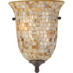 Quoizel Monterey Mosaic Wall Fixture MY8801ML | bedfordlighting.com