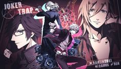Uta no Prince Sama Joker Trap - Camus, Ranmaru Kurosaki, Ren Jinguji & Tokiya Ichinose
