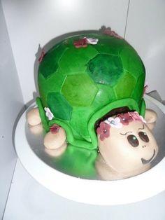 turtle cake By mellyjane43 on CakeCentral.com awwwwwwwwwww