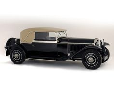 1930 Bugatti Type 46 Faux Cabriolet by Veth & Zoon