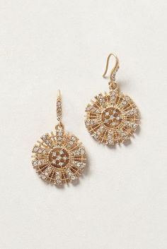 Pansy Shell Drops #anthrofave #anthropologie.com