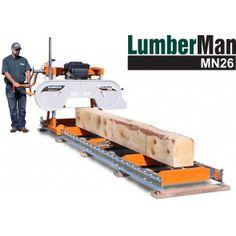 Norwood LumberMan MN26 Sawmill 13HP Briggs OHV