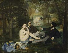 #40. Le Déjeuner sur l'herbe - Édouard Manet, 50 Most Influential and Famous Paintings of All Time