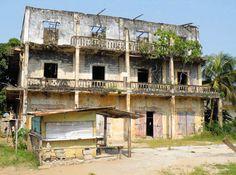 Hôtel de France à Bassam en Côte D'Ivoire en Afrique de L'Ouest