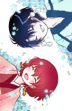 Hak and yona (Hak looks really feminine in this one)