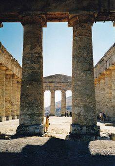 "Sicily, Italy - ""temple dorique de Ségeste (Sicile), by jmsatto, via Flickr"