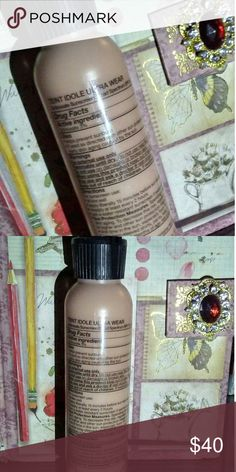 3.74oz Lancome Teint Idole Ultra Wear BISQUE 425 This size isn't even sold, as regular ones on the market go in 1oz and $47, so this is a deal!  ~ In the shade Bisque 425 (please check my listings for other shades (: ) ~ Infused with SPF 15 for your face's protection ~ 3.74oz bottle!  ~ NEVER opened. NEVER used. Lancome Makeup Foundation