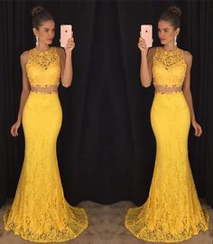 Two Pieces Lace Prom Dress Prom Dresses Wedding Party Gown Cocktail Formal Wear · Promfashionworld2016 · Online Store Powered by Storenvy