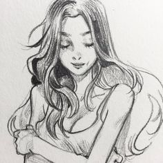 Leslie Hung on Embedded image Drawing Sites, Drawing Sketches, Art Drawings, Sketching, Pencil Drawings, Pretty Art, Cute Art, Leslie Hung, Cartoon Kunst