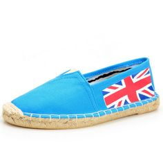 Toms Classic Womens Shoes Blue Flag Rope Sole [Toms027] - $26.00 : Toms Shoes Outlet,Cheap Toms Shoes Outlet Save Up To 80% Off