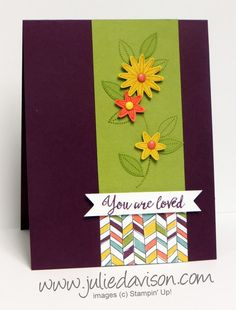 Layout from Julie's Pocket Sketch Challenge #3:  http://juliedavison.blogspot.com/2015/12/pocket-sketch-challenge-3-occasions.html  For more Stampin' Up! projects and Occasions Catalog sneak peeks, visit my blog at http://juliedavison.com
