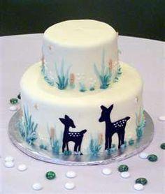 Nature baby shower cake   Flickr - Photo Sharing!