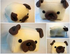 Hey, I found this really awesome Etsy listing at https://www.etsy.com/listing/110716550/pug-loaf