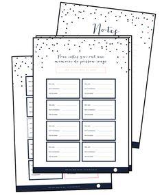 Archives - Page 2 sur 8 - Vie de Miettes Journal Organization, Diy Organization, Organizing, Planner Pdf, Family Planner, Home Management Binder, Free Calendar, Best Planners, Filofax