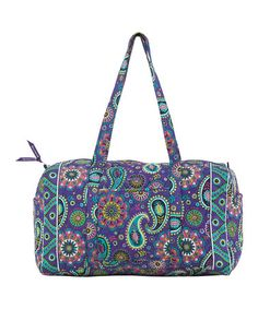 Take a look at this Paisley Punch Duffel by Bella Taylor Handbags on #zulily today!