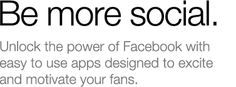 NorthSocial - use to customize your Facebook pages