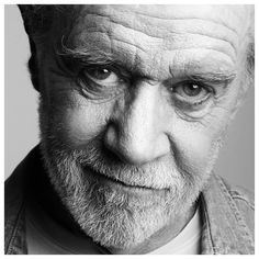"""George Carlin // """"I could never understand ethnic or national pride. Because to me, pride should be reserved for something you achieve or attain on your own, not something that happens by accident of birth. Being Irish isn't a skill, it's a fucking genetic accident. You wouldn't say """"I'm proud to be 5'11"""". I'm proud to have a predisposition for colon cancer."""" So why the fuck would you be proud to be Irish, or proud to be Italian, or American or anything?"""""""