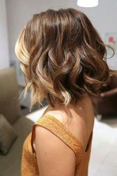 Pretty Short Ombre Hair for Girls