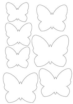 Butterfly template for appliqu