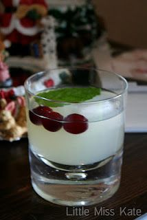 Food for Friday - Holiday Cranberry Cocktail - Little Miss Kate