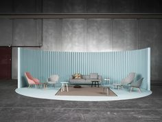Hay living room: A Danish Furniture and Design Company