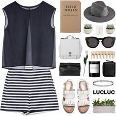 LucLuc 4.20 by jesicacecillia on Polyvore featuring Proenza Schouler, Marie Turnor, Monki, Topshop, 3.1 Phillip Lim, Byredo, Laura Cole, MTWTFSS Collection and The Body Shop