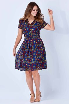 0e6681660b that bird label Finch Cap Sleeve Dress Fireworks