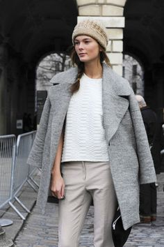 Model-Off-Duty: Irina Kulikova | Effortless Neutrals