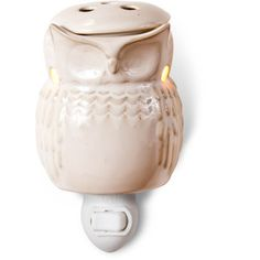 Better Homes and Gardens Plug-In Warmer, White Owl; WalMart $10
