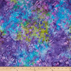 Island Batik Dragonfly Watercolor from @fabricdotcom  From Island Batik, this Indonesian batik is perfect for quilting, apparel and home decor accents.  Colors include shades of blue, shades of purple and shades of green.