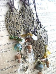 forest wish necklaces