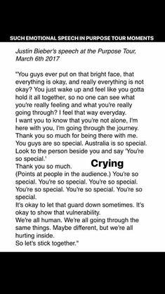 I'm crying...