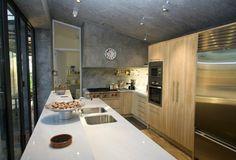 La cocina Kitchen Island, Concrete, Conference Room, Design Inspiration, Design Ideas, Interior Design, Architecture, Table, Furniture