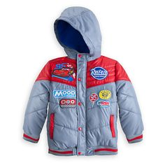 Lightning McQueen Puffy Jacket for Boys