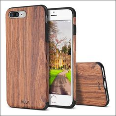 #Belk - #iPhone7Plus #woodencases help you set your unique style. These are the best real wooden cases for iPhone 7 Plus look natural and artistic.