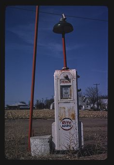 Rite Way gas pump, Route 30