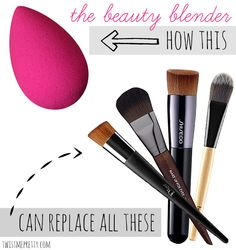 How the beauty blender works, and why you need one! | Twist Me Pretty #makeup
