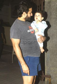 Photos: Saif, Kareena and Taimur visit Soha Ali Khan's daughter